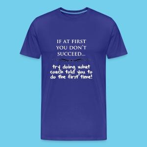 eed.. - Men's LS Tee - Men's Premium T-Shirt