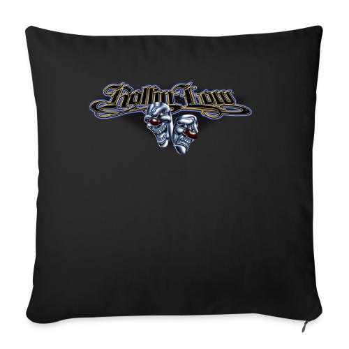 Rollin Low - Smile Cry Masks - Throw Pillow Cover