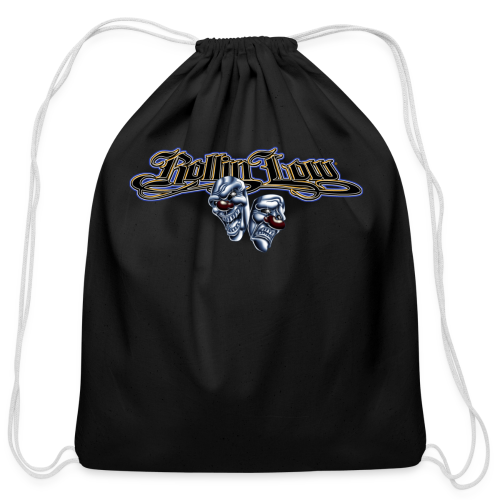 Rollin Low - Smile Cry Masks - Cotton Drawstring Bag