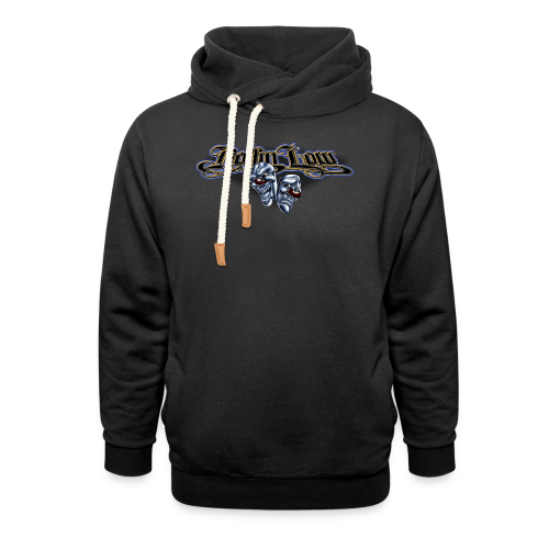 Rollin Low - Smile Cry Masks - Shawl Collar Hoodie