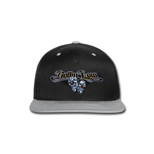 Rollin Low - Smile Cry Masks - Snap-back Baseball Cap
