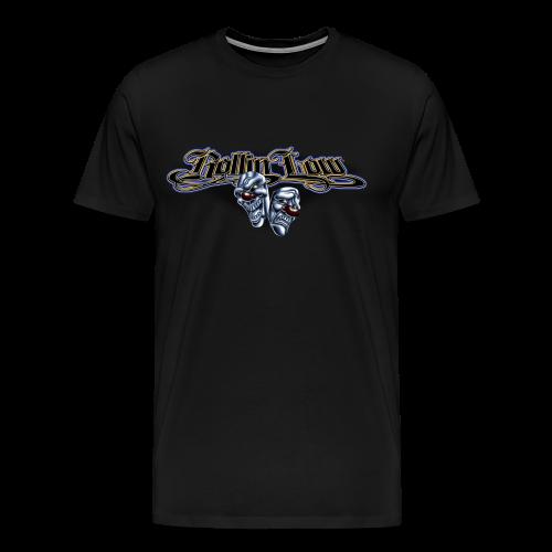Rollin Low - Smile Cry Masks - Men's Premium T-Shirt