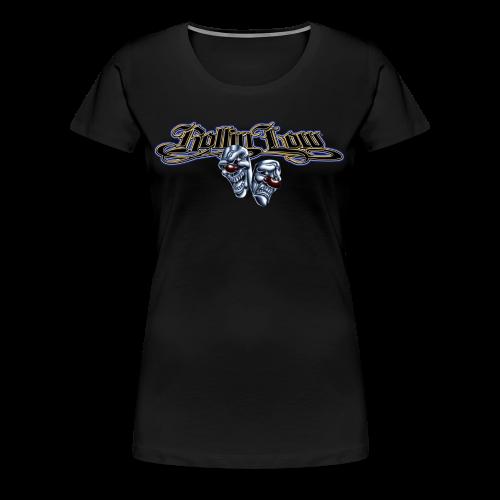 Rollin Low - Smile Cry Masks - Women's Premium T-Shirt