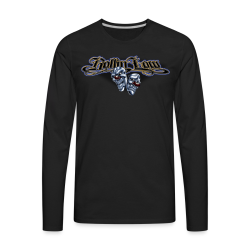 Rollin Low - Smile Cry Masks - Men's Premium Long Sleeve T-Shirt