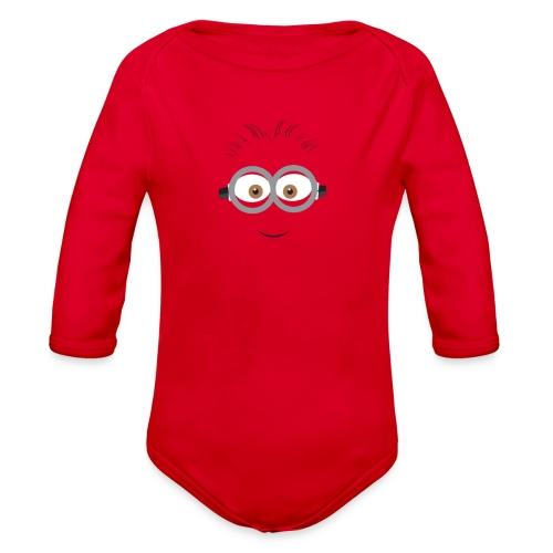 Minion - Kid Hoodie - Organic Long Sleeve Baby Bodysuit