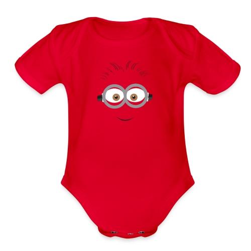 Minion - Kid Hoodie - Organic Short Sleeve Baby Bodysuit