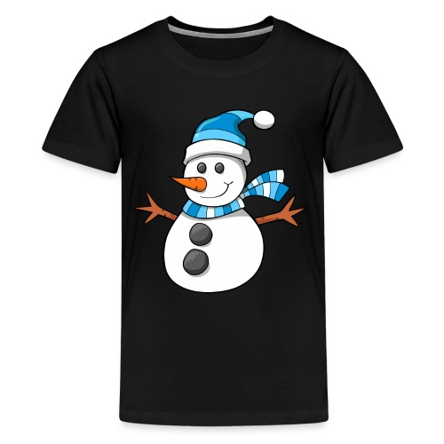 SnowMan - Kid Hoodie - Kids' Premium T-Shirt