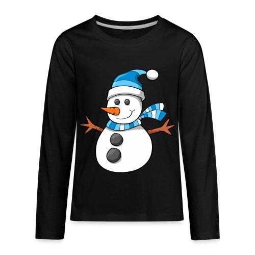 SnowMan - Kid Hoodie - Kids' Premium Long Sleeve T-Shirt