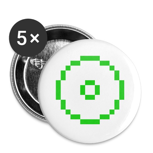 Gal V-Neck Shirt - Buttons small 1'' (5-pack)