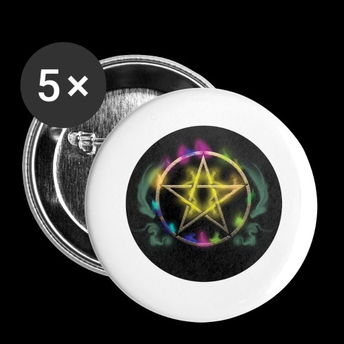 Rainbow Pentacle - iPhone 6 Plus Rubber Case - Small Buttons