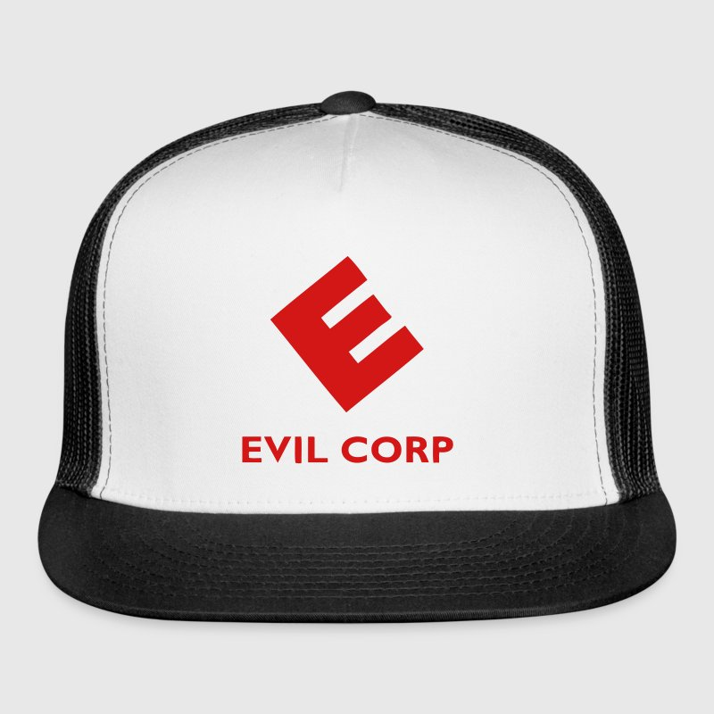 evil corp mr robot fsociety Caps - Trucker Cap