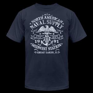 Naval Supply - Men's Fine Jersey T-Shirt