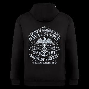 Naval Supply - Men's Zip Hoodie