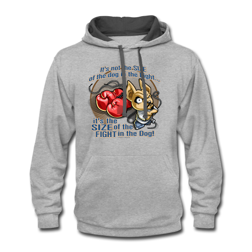 Rollin Low - Dog in the Fight - Contrast Hoodie