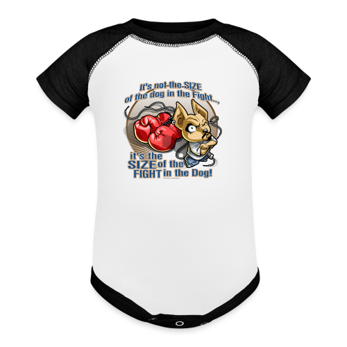 Rollin Low - Dog in the Fight - Contrast Baby Bodysuit