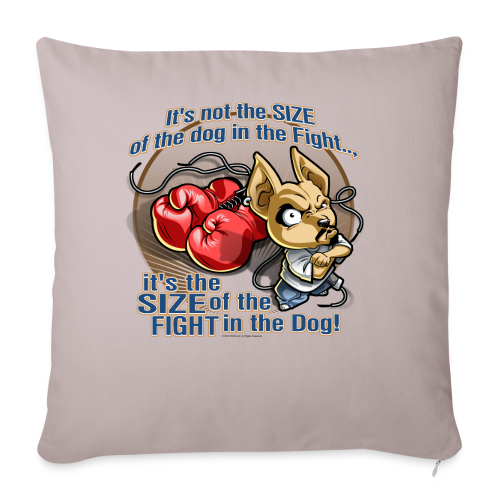 Rollin Low - Dog in the Fight - Throw Pillow Cover