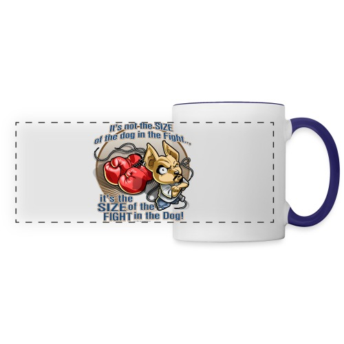 Rollin Low - Dog in the Fight - Panoramic Mug