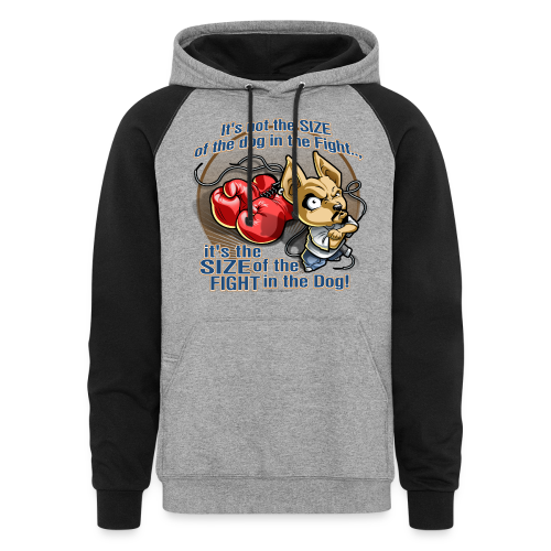 Rollin Low - Dog in the Fight - Colorblock Hoodie
