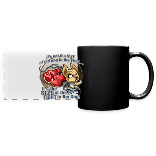 Rollin Low - Dog in the Fight - Full Color Panoramic Mug