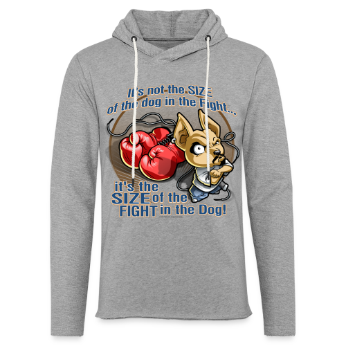 Rollin Low - Dog in the Fight - Unisex Lightweight Terry Hoodie