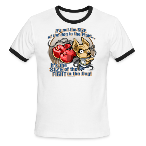 Rollin Low - Dog in the Fight - Men's Ringer T-Shirt