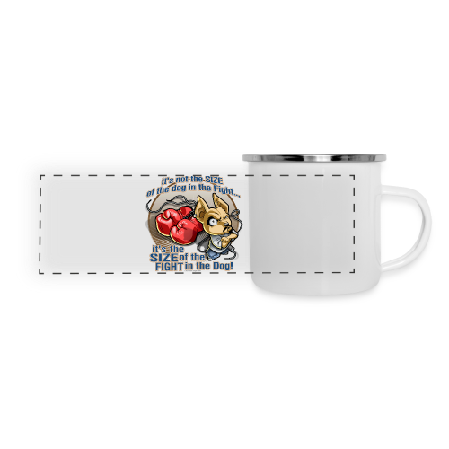 Rollin Low - Dog in the Fight - Panoramic Camper Mug