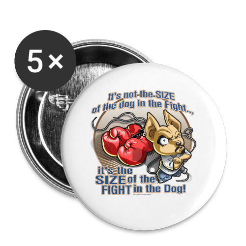 Rollin Low - Dog in the Fight - Small Buttons