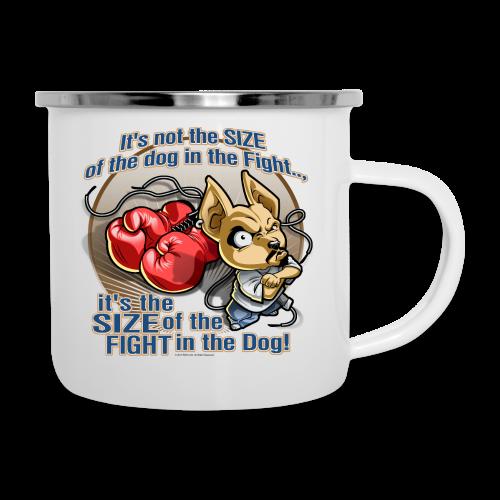 Rollin Low - Dog in the Fight - Camper Mug