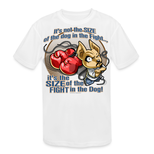 Rollin Low - Dog in the Fight - Kids' Moisture Wicking Performance T-Shirt