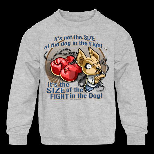 Rollin Low - Dog in the Fight - Kids' Crewneck Sweatshirt
