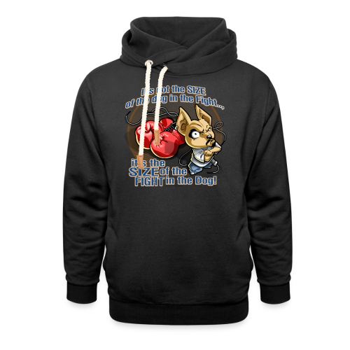 Rollin Low - Dog in the Fight - Shawl Collar Hoodie