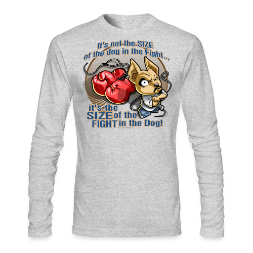 Rollin Low - Dog in the Fight - Men's Long Sleeve T-Shirt by Next Level