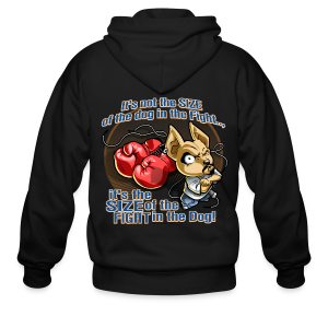 Rollin Low - Dog in the Fight - Men's Zip Hoodie
