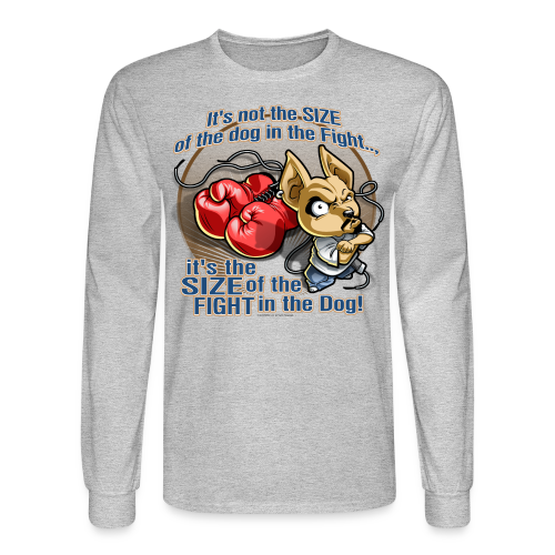 Rollin Low - Dog in the Fight - Men's Long Sleeve T-Shirt