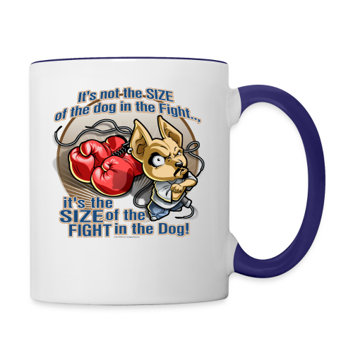 Rollin Low - Dog in the Fight - Contrast Coffee Mug
