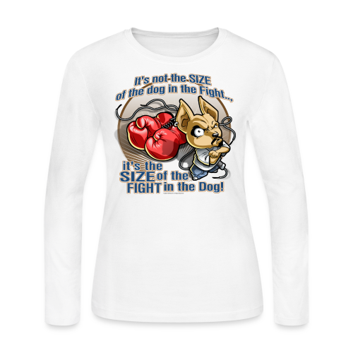 Rollin Low - Dog in the Fight - Women's Long Sleeve Jersey T-Shirt