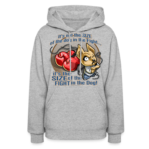 Rollin Low - Dog in the Fight - Women's Hoodie