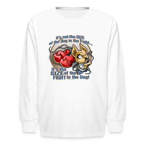 Rollin Low - Dog in the Fight - Kids' Long Sleeve T-Shirt
