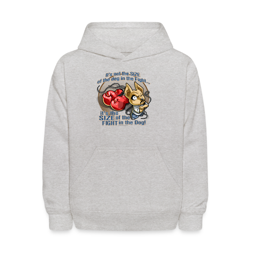 Rollin Low - Dog in the Fight - Kids' Hoodie