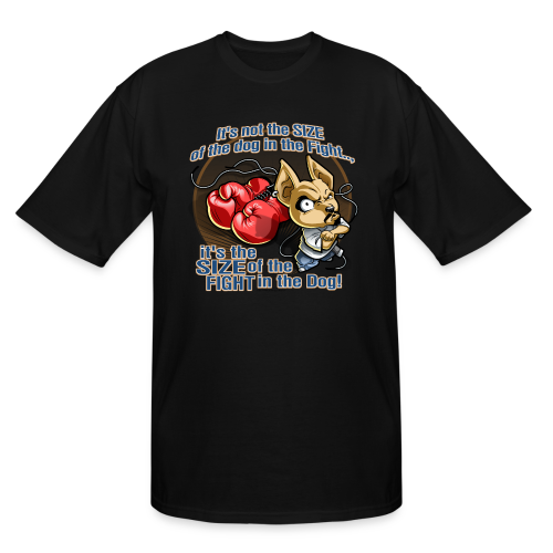 Rollin Low - Dog in the Fight - Men's Tall T-Shirt