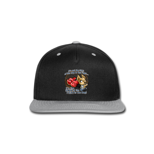 Rollin Low - Dog in the Fight - Snap-back Baseball Cap
