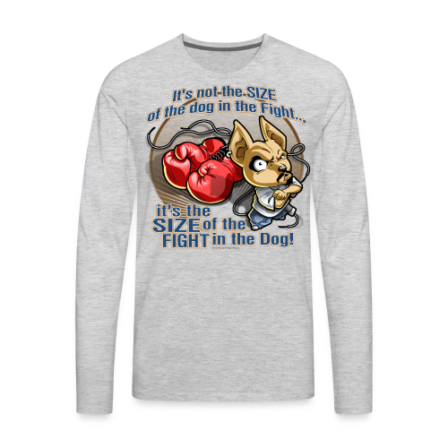 Rollin Low - Dog in the Fight - Men's Premium Long Sleeve T-Shirt