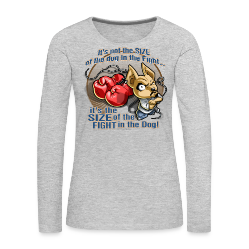 Rollin Low - Dog in the Fight - Women's Premium Long Sleeve T-Shirt