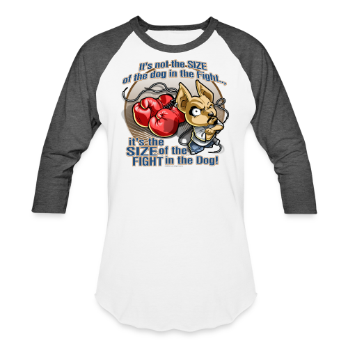 Rollin Low - Dog in the Fight - Baseball T-Shirt