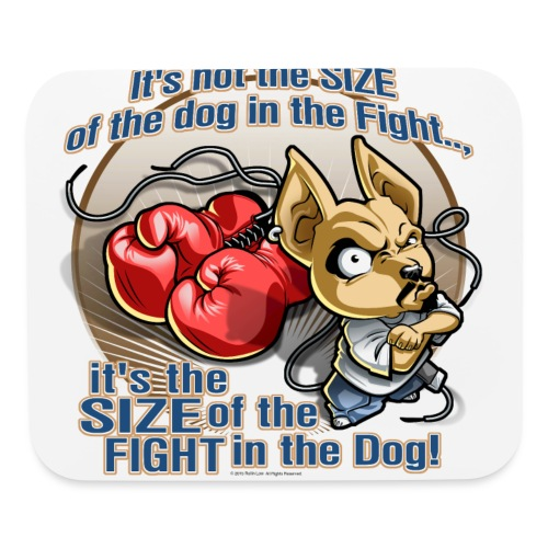 Rollin Low - Dog in the Fight - Mouse pad Horizontal