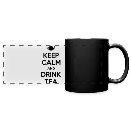 Keep Calm and Drink Tea Mug - Full Color Panoramic Mug