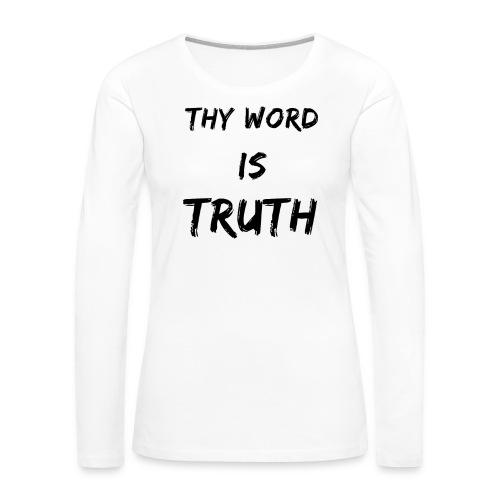 Women's Premium - Women's Premium Long Sleeve T-Shirt