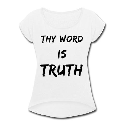 Women's Premium - Women's Roll Cuff T-Shirt