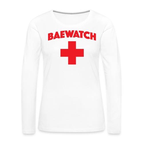 Bae watch t-shirt  - Women's Premium Long Sleeve T-Shirt