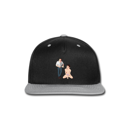 Mike and James - Snap-back Baseball Cap